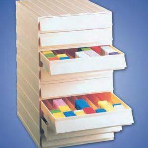 Arhiva din plastic- 8 sertare