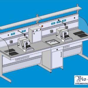 Masa de lucru pentru microtom- al doilea operator (model TSO)
