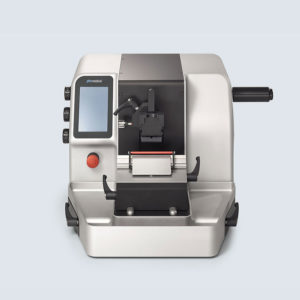 Microtom complet automat rotativ- model pfm 3006EM (cu suport standard pentru casete si/sau suport pentru blocuri)