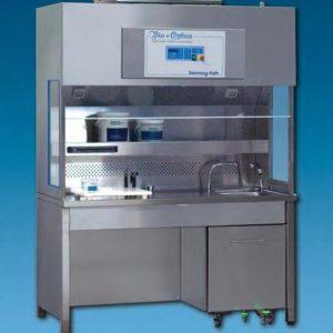 Hota pentru histologie, cu triplu sistem de aspiratie - model TRIMMING TECH 90/ 130/ 150/ 180 cm
