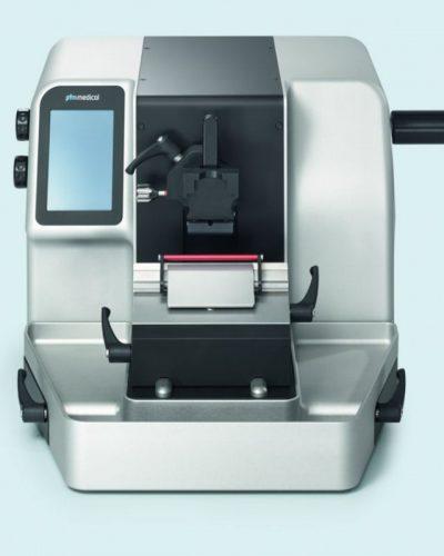 Microtom semi-automat rotativ- model pfm 3005E (cu suport standard pentru casete sisau suport pentru blocuri)-min