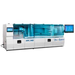 Sistem automat complex pentru colorare si montare lame HPC
