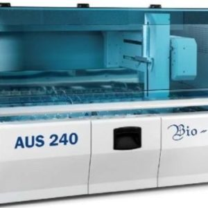 Automat liniar XY pentru colorare lame, cu cuptor- model AUS240