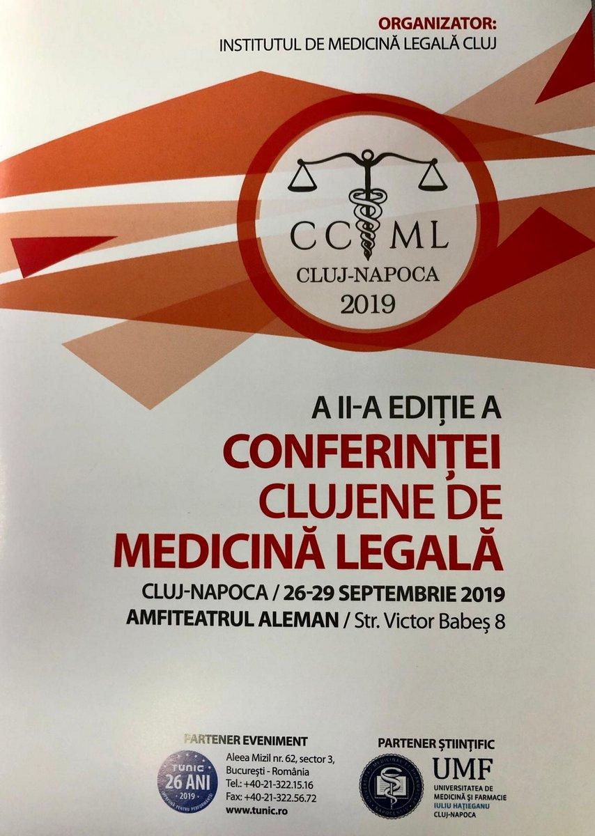 Conferința Clujeană de Medicină Legală ediția a II-a, 26-29 septembrie 2019 (2)
