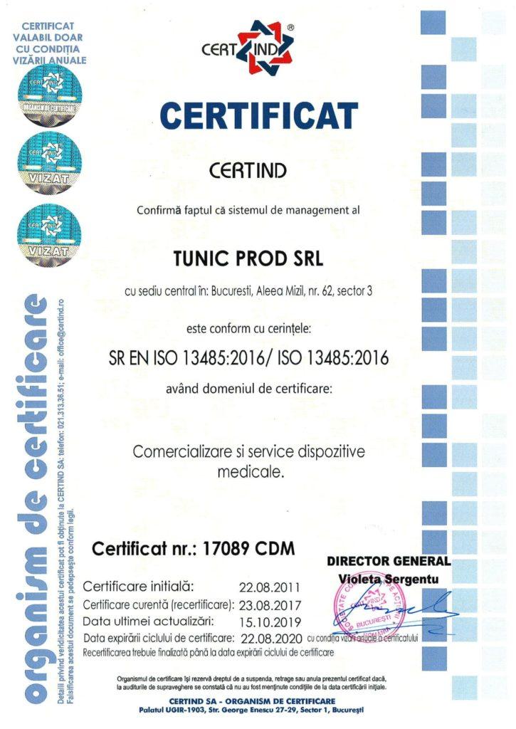 SR EN ISO 13485