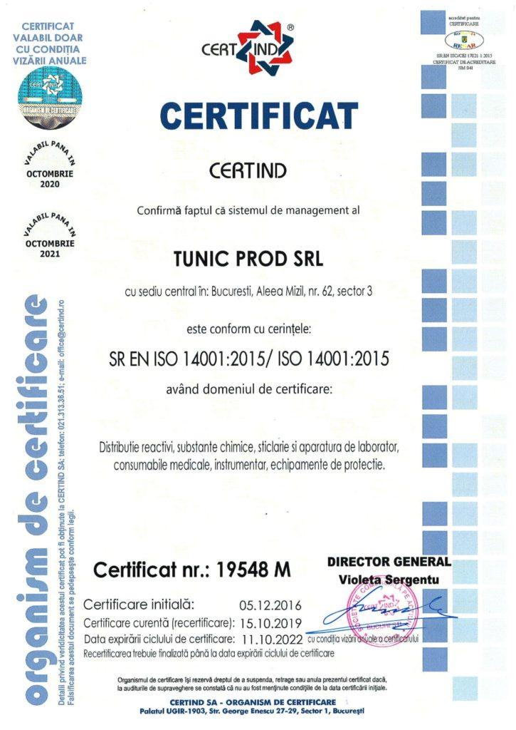 SR EN ISO 14001