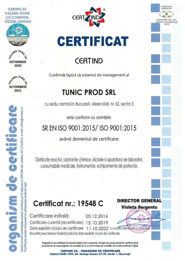 SR EN ISO 9001