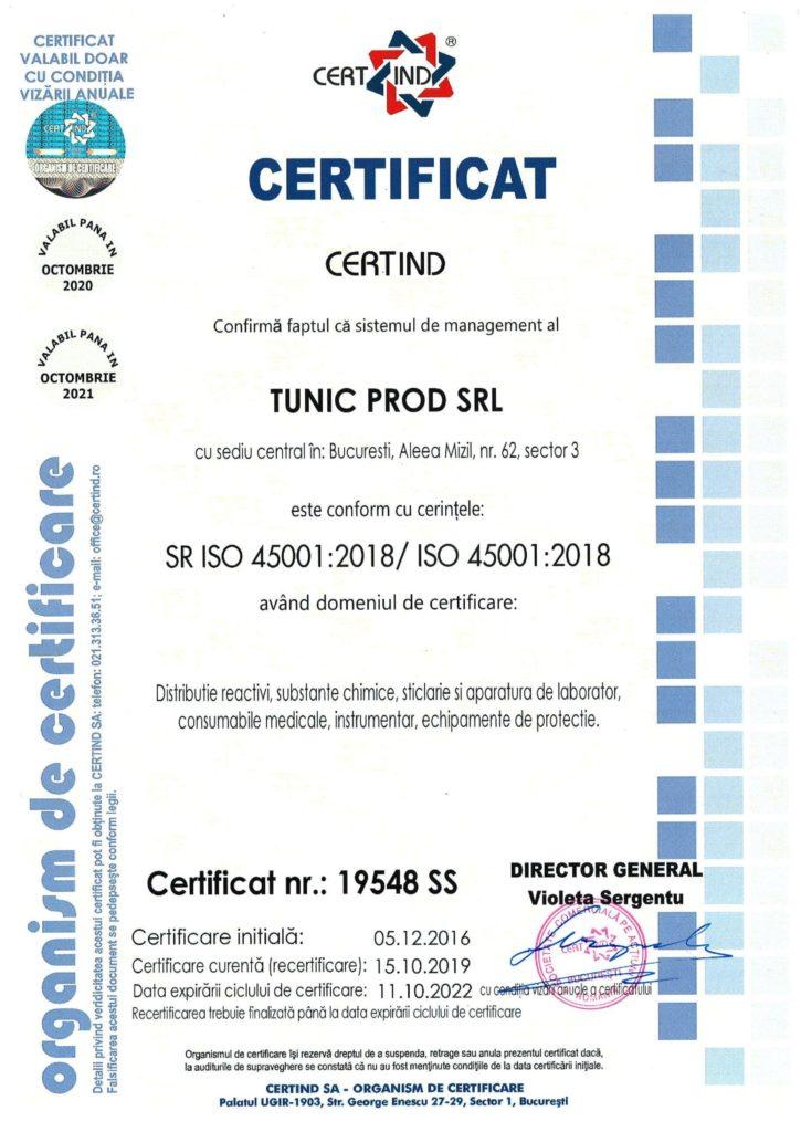 SR ISO 45001