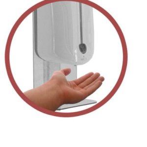 Sistem automat de distributie dezinfectanti