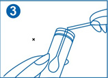 3. Rupeți tamponul