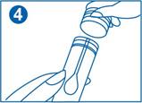 4. Strângeți capacul tubului și etichetați-l